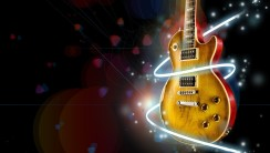 Slash Gibson Les Paul Electric Guitar HD Wallpaper Picture Free Download