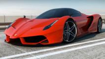 Amazing Ferrari F70 Sport Cars HD Wallpaper Picture Photo