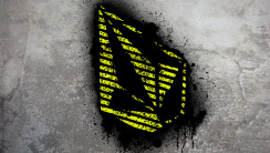 Yellow Volcom Stone Graffiti Fresh New HD Wallpaper Image Background