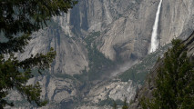 Beautiful Place To Visit Yosemite Waterfall Photo And Picture Sharing