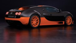 Black Orange Bugatti Veyron 16 4 Super Sport Cars HD Wallpaper