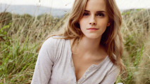 Emma Watson In Nature Wallpaper HD Widescreen For Your PC Computer