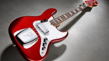 Red White Fender Jazz Bass Image HD Wallpaper For Your Laptop