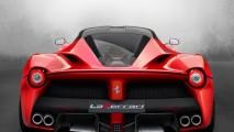 Ferrari F70 Rear HD Wallpaper Widescreen For Your PC Computer