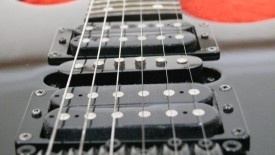 Black Ibanez Electric Guitar Photo Picture HD Wallpaper Widescreen