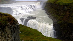 Gullfoss Falls Nature Iceland Picture Photo For Your PC Desktop