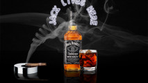 Jack Daniels And Cigarette HD Wallpaper Image For PC Desktop