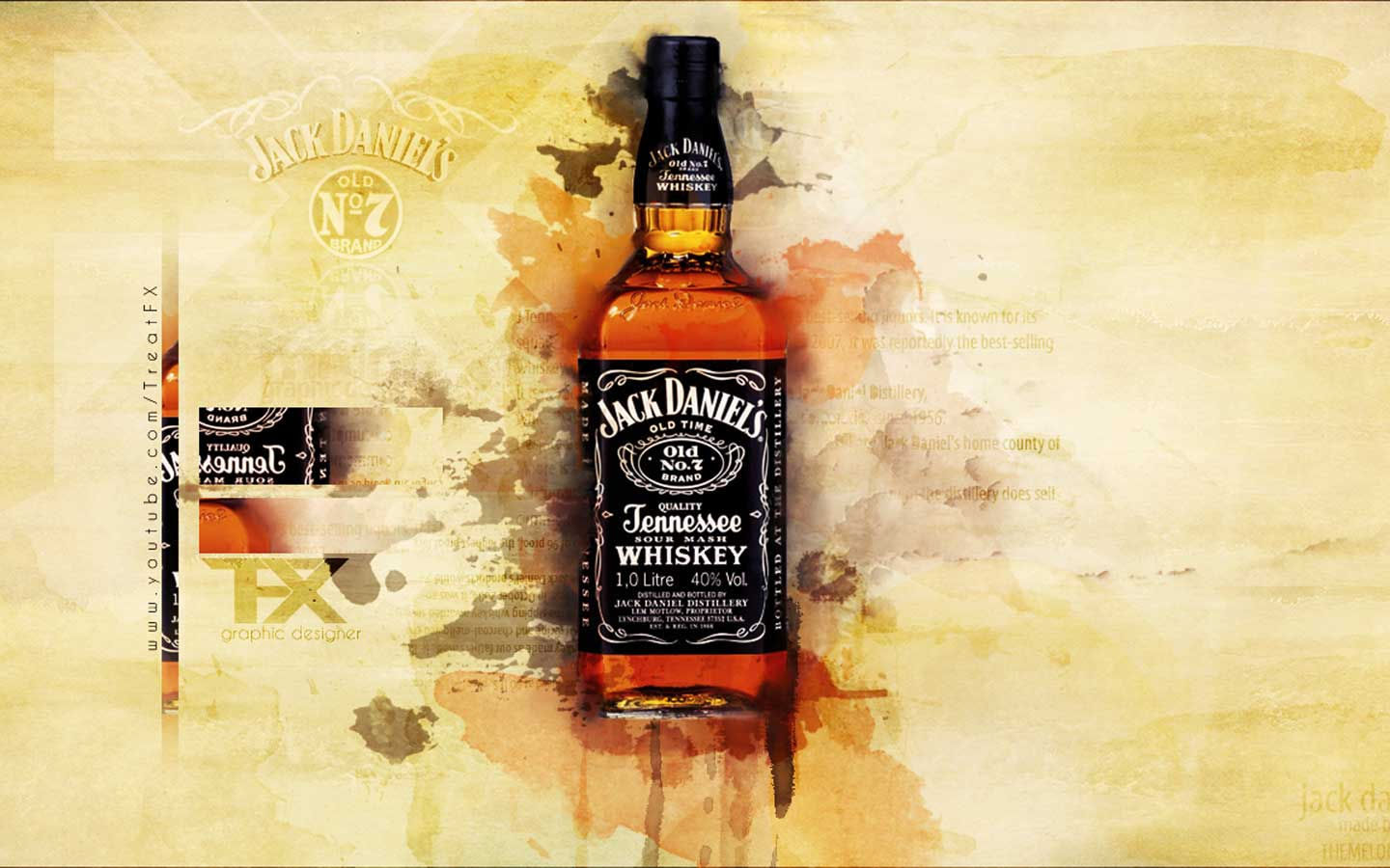 Jack daniels bottle wallpaper wallpaper wide hd for Photos jack daniels