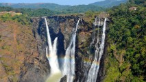 Jog Falls Karnataka India Nature HD Wallpaper Widescreen Desktop