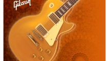 Brown Gibson Les Paul HD Wallpaper Widescreen For PC Desktop