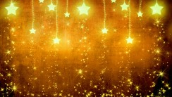 Beautiful Stars Light Gold High Quality In HD Wallpaper Background