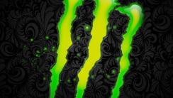 Monster Energy Logo Background HD Wallpaper For Your iPhone 5