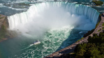 Amazing Waterfall Niagara Falls Best Photo HD Wallpaper Picture