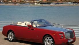 Red Rolls Royce Phantom Drophead Coupe Automotiv HD Wallpaper