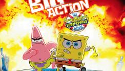 Big Action Spongebob Squarepants HD Wallpaper Widescreen