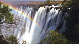 Victoria Waterfall Nature High Resolution In HD Wallpaper Free Download