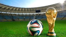 FIFA World Cup Brasil 2014 Trophy And Ball Photo Picture HD Wallpaper
