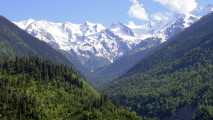 Caucasus Mountains HD Wallpaper