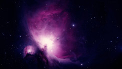 Purple Orion Nebula Wallpaper