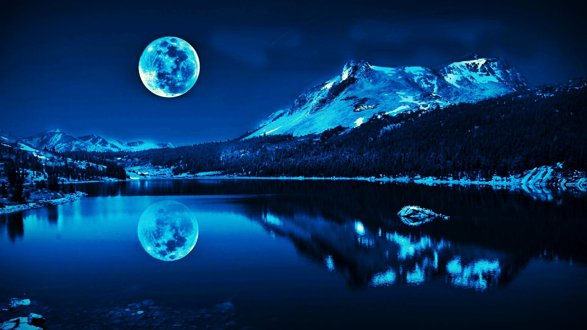 pics photos the blue moon wallpaper download the free