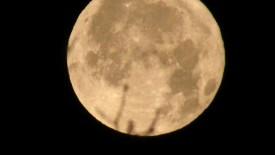 Super Moon Rising HD Wallpaper
