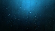 Water Droplets Scratched Blue Metal  HD Wallpaper