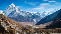 Mount Everest Nepal Camp HD Wallpaper