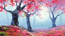 Fall Artwork HD Wallpaper
