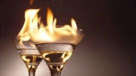 Flaming Cocktail HD Wallpaper