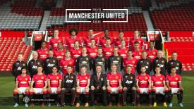 Manchester United Team HD Wallpaper