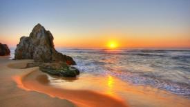 Sunset over the Ocean HD Wallpaper