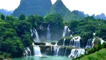 Ban Gioc-Deitan Falls, Vietnam HD Wallpaper