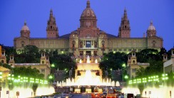 Museum of Art in Barcelona Spain HD Wallpaper