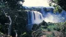 Blue Nile Falls HD Wallpaper