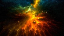 Colors of Space HD Wallpaper