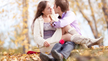 Couple in Love HD Wallpaper