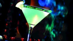Green Martini HD Wallpaper