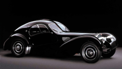 Bugatti Atlantic Iconic Car Design HD Wallpaper
