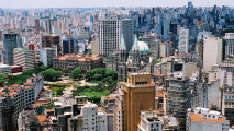 Sao Paulo City Brazil HD Wallpaper