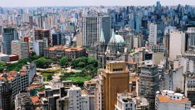 Sao Paulo City Brazil HD Wallpaper