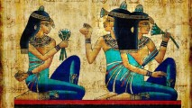 Egyptian Art HD Wallpaper