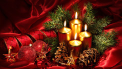 Holiday Decorations HD Wallpaper