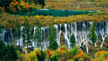 Pearl Shoal Waterfall HD Wallpaper