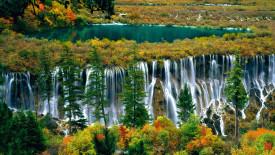 Pearl Shoal Waterfall HD Wallpaper