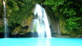 Kawsan Falls Philippines HD Wallpaper