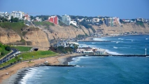 Lima Peru Shoreline HD Wallpaper