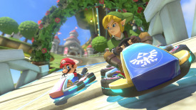 Mario Kart 8 Game HD Wallpaper