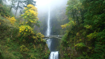 Multnomah Falls HD Wallpaper