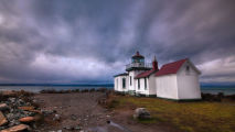 Discovery Park Lighthouse Seattle HD Wallpaper