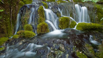 Plitvice Waterfall in Croatia HD Wallpaper